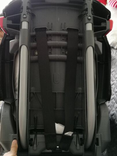 葛莱 美国GRACO鹦鹉螺系列宝宝儿童汽车安全座椅8J96 9月-12岁 8J39精英版红色 晒单图