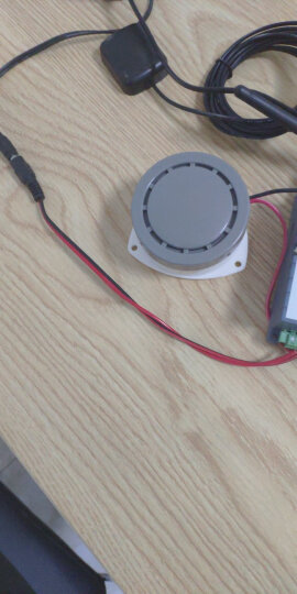 shthde 小型蜂鸣器电子防盗警报器高分贝报警喇叭 HRB-N80 DC 12V 晒单图