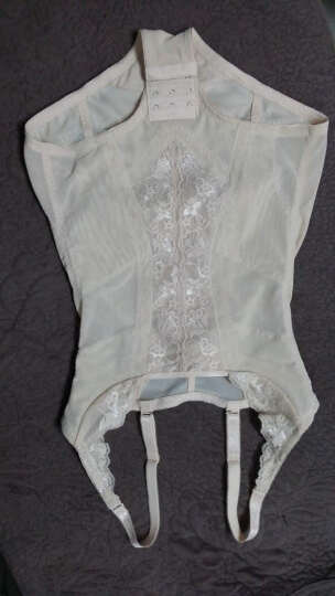 婷美连体塑身衣美体修型产后收腹提臀束身连体衣LL4109 驼色 70 晒单图