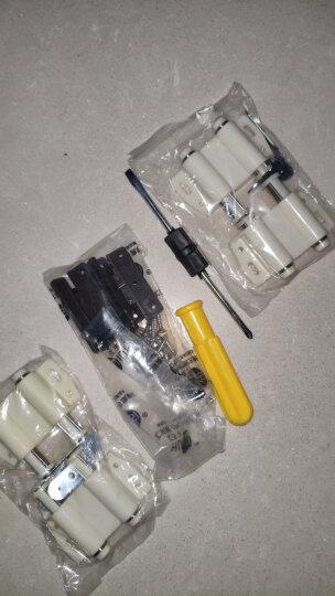 汇乐斯 双门玻璃柜吸/橱柜门吸/柜门碰塑料磁吸弹簧磁碰一按即开一按即关 双开门 晒单图