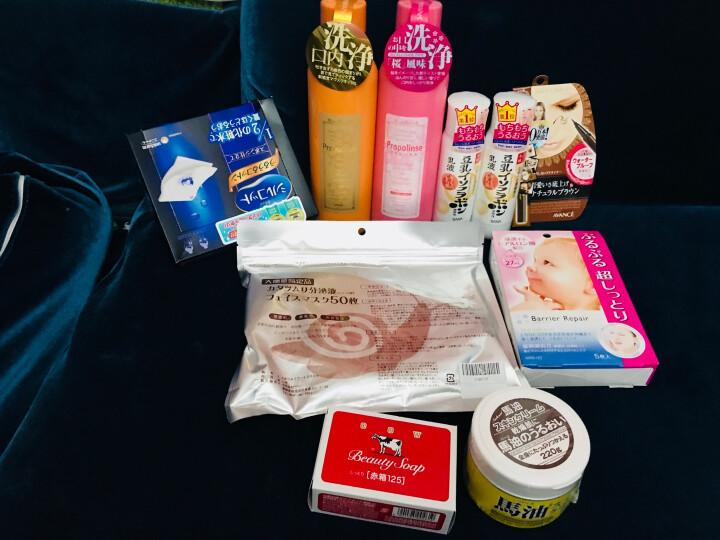 日本 牛乳石碱(cow)滋润牛奶香皂 保湿玫瑰滋润沐浴皂 125g (红色滋润型) 晒单图