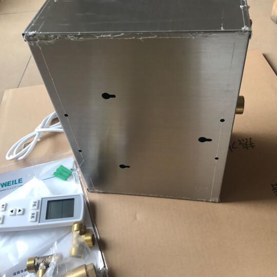 【上门安装】威乐循环泵 热水循环系统  回水器装置 空气能 热泵太阳能燃气电热水器伴侣家用静音增压1 新款G7A 水控型不锈钢泵100瓦 平层家用 晒单图