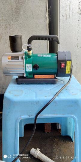 藤原旋片真空泵实验室冰箱空调抽气泵 单双级真空泵 旋片式真空泵 PC-3真空干燥器加送密封圈一个 晒单图