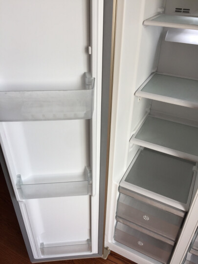 伊莱克斯(Electrolux)510升对开门冰箱 大容量风冷无霜 LED显示电脑控温节能静音 ESE5108TD 晒单图