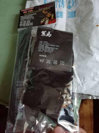 策马 军迷战术腰带CQB 户外多功能战术垂降救援皮带 黑色 晒单图