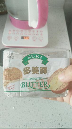 多美鲜(SUKI)淡味 动物黄油 200g 欧洲发酵黄油 比利时进口 烘焙原料 晒单图