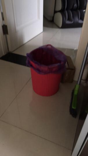 香米 加厚背心式手提垃圾袋 承重好 不易漏 没有异味 食品级别垃圾袋 X108*3+X109*6   大号中号各3卷 晒单图
