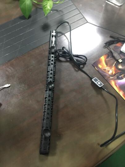 鱼缸加热棒恒温棒自动感应水族箱发热器防爆数码显示智能电子感温系统控制 H-100W 带LED温显双温调离水断电 晒单图