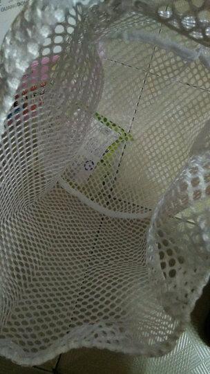 奔奔鹅拉绳洗衣袋套装洗衣机专用大号细网兜内衣毛衣羽绒服护洗袋不含荧光剂粗网 小 密网30*40cm(薄衬衫/丝袜)(1121) 晒单图
