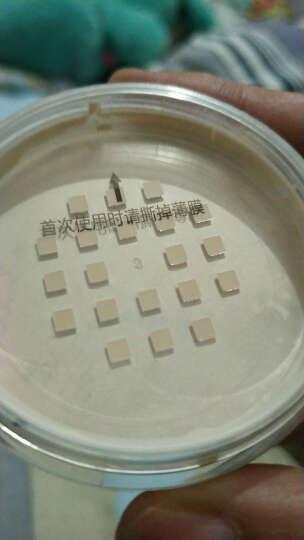 索菲欧散粉控油蜜粉持久干粉定妆粉孕妇哺乳期可用修容遮瑕保湿带粉扑 01象牙白(适合白皙肤色) 晒单图