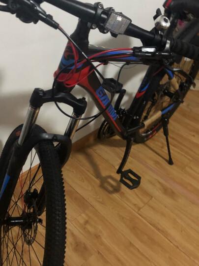 GAMMA/捷马26寸铝合金山地自行车禧玛诺24/27变速禧玛诺油碟成人男女青少年学生越野单车雷鸣 27速6.0版-黑色 26 晒单图
