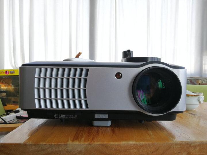 Rigal 瑞格尔RD-804/806家用投影仪高清智能无线办公投影机 WIFI 804白色 官方标配 晒单图