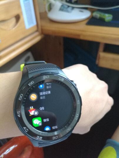 HUAWEI WATCH 2 华为第二代智能运动手表4G版 独立SIM卡通话 GPS心率FIRSTBEAT运动指导 NFC支付 活力橙 晒单图