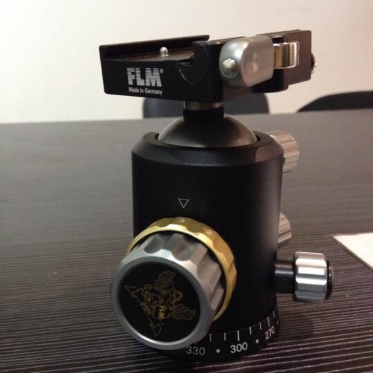 德国孚勒姆(FLM)CB43FT-AII单反相机三脚架铝合金中型球形全景云台承重30kg 晒单图