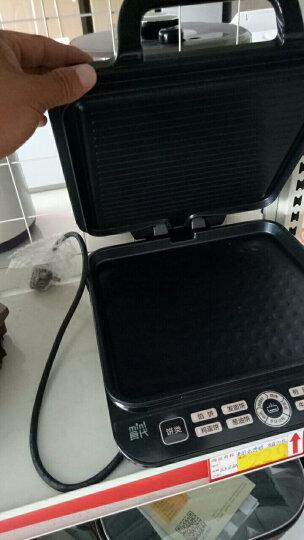 美的(Midea)电饼铛家用双面加热智能悬浮速脆煎烤机直角烤盘烙饼机JCN2725A 晒单图