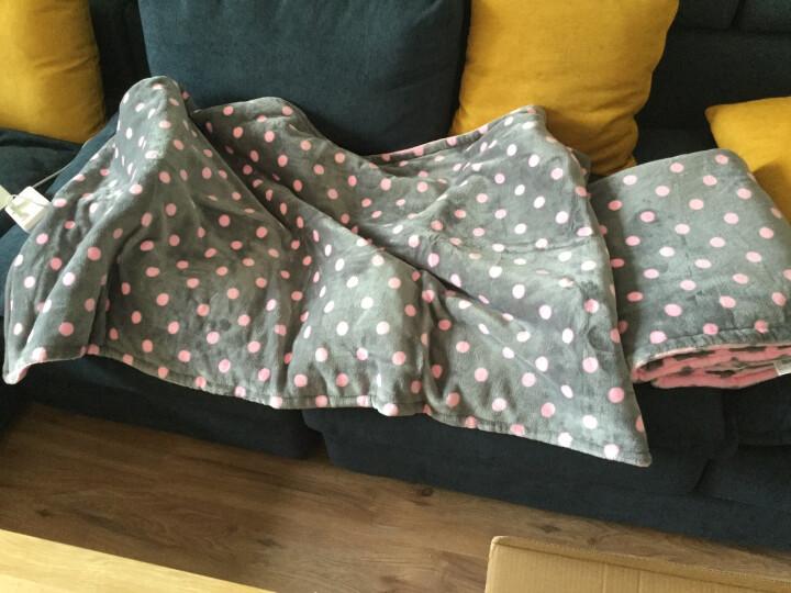 南极人电热毯多功能暖身毯加热护膝毯办公加热坐垫电褥子电热垫 可水洗 双人暖身毯50113 深蓝+米黄 双人160*120cm 晒单图