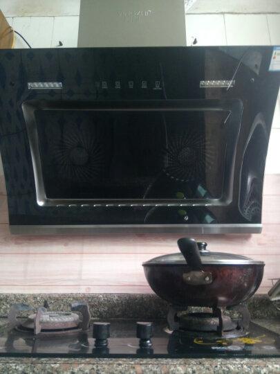 樱智(YINGZHI) 抽油烟机侧吸式智能体感弧形双电机自动清洗烟灶套装可选 油烟机搭配蓝心猛火灶.管道天然气(套装) 上门安装 晒单图