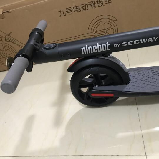 Ninebot 九号电动滑板车(标准版) 成人儿童便携折叠电动车体感车平衡车 晒单图