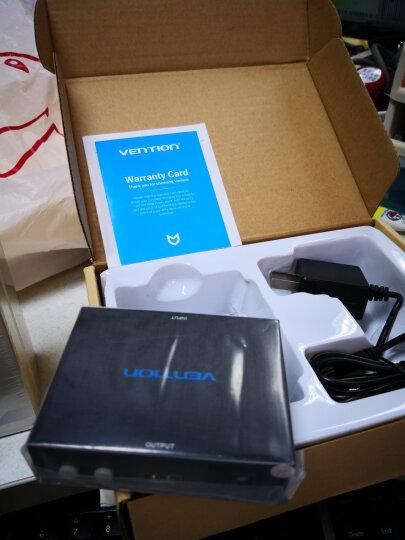 威迅(VENTION)AV转HDMI转换器 RCA模拟转数字高清信号 S-video端子机顶盒连接电视投影仪适配器 黑色 AEAB0 晒单图