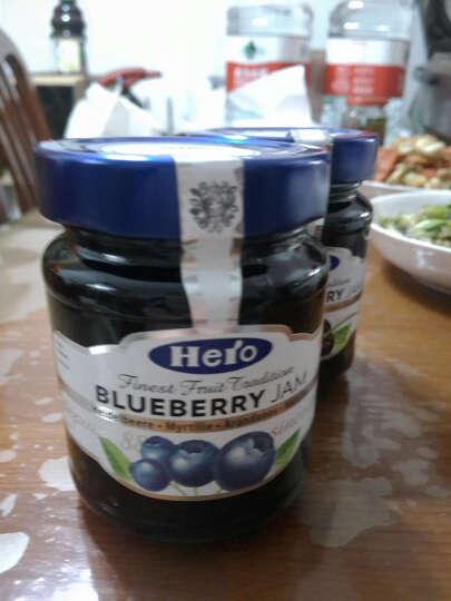 340g*3瓶德国进口Hero英雄果酱草莓蓝莓 果肉早餐面包涂抹酱 8种口味可选 晒单图