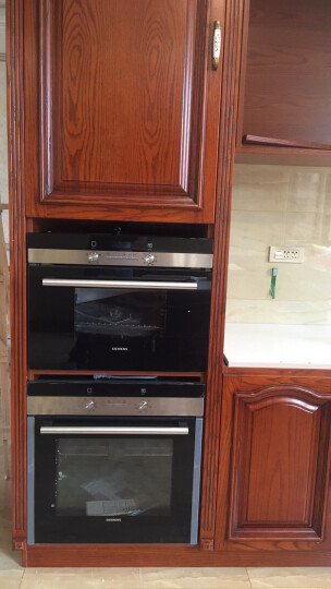 西门子(SIEMENS) 电烤箱家用 多功能61升原装进口 嵌入式 HB23AB551W 晒单图