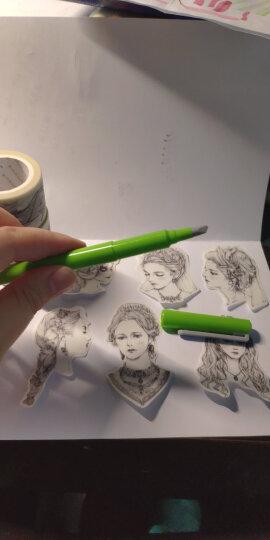 日本乐多(OHTO) Ceramics 手账专用陶瓷裁纸刀手账工具刀 CP-25 草绿 原装进口 晒单图