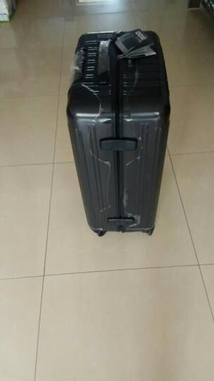 瑞动拉杆箱 24英寸行李箱 时尚轻盈大容量旅行箱静音万向轮 5036灰色 晒单图