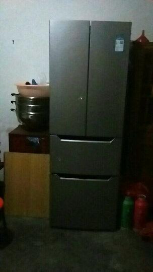 奥马(Homa) 285升 冷藏定期除霜 电脑控温 大容量超薄 独立分储 多门冰箱 银色 BCD-285K 晒单图