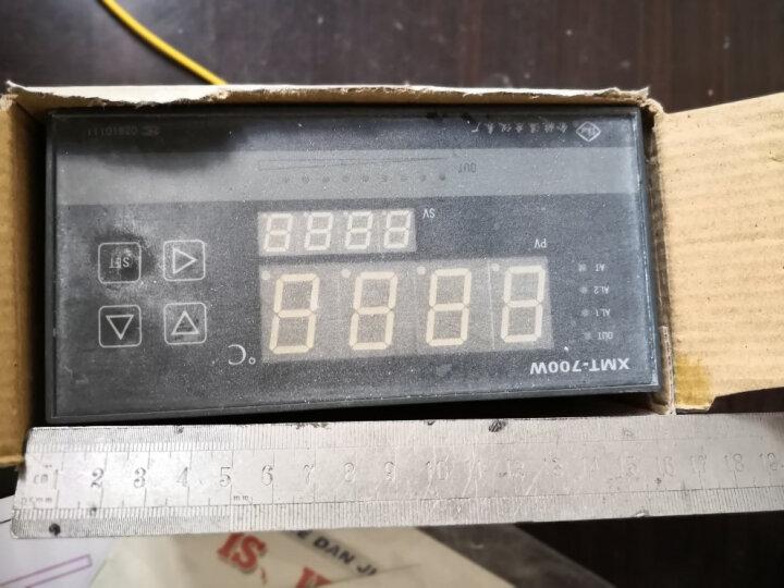 美控(MEACON)数显温控仪智能温度显示仪PT100PID温度监测仪继电器热电阻热电偶 PID温控仪+可控硅控制 晒单图