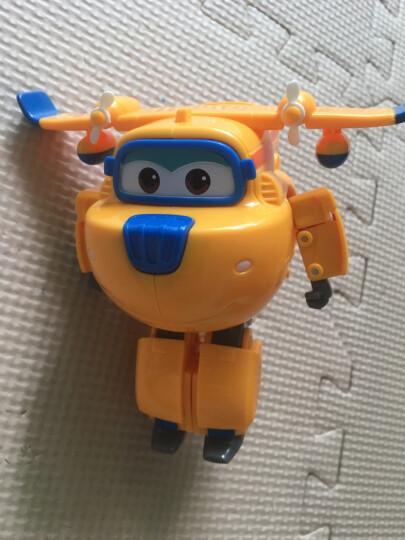 奥迪双钻(AULDEY)超级飞侠 幼儿园儿童小学生书包双肩包 乐迪立体造型背包 710061 晒单图