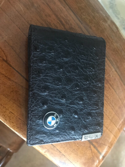 卡先生 真皮机动车驾驶证行车证本 行驶证套 车用证件夹子 定制车标款  汽车内饰装饰用品 黑色 奔驰GLC300 GLE320 GLE400 晒单图