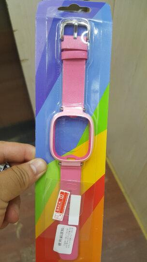 优粟 小天才电话Y01手表带 儿童防护手表带表链 小天才手环连接带保护套 手表腕带 原装皮表带-可爱粉 晒单图