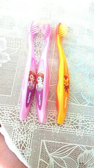 舒客宝贝(sakykids)儿童保健牙刷2-5岁 (颜色随机发) 晒单图