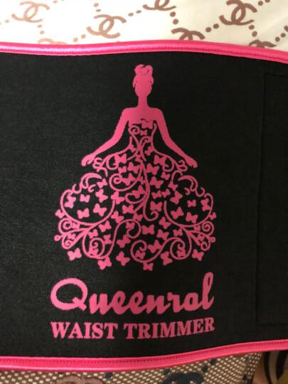 Queenral 塑身衣 运动收腹带产后显瘦助汗塑身衣健身美体塑形束腰绑带女产后塑身美体女士收腹带衣 粉红色 均码 腰围小于95cm 晒单图