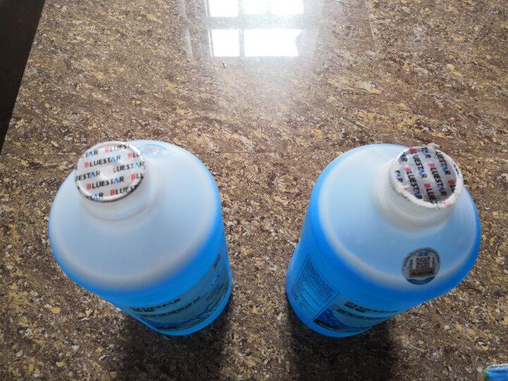 蓝星(BLUESTAR)汽车用品玻璃水挡风玻璃清洗剂快速去污剂高效去油膜去除虫胶雨刮精清洗液-2°C 2L 晒单图