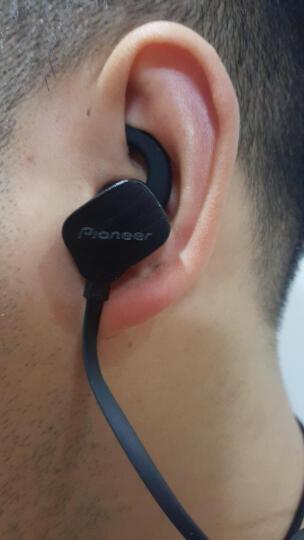 先锋(Pioneer)Pio-one 无线蓝牙运动耳机 磁吸断电 黑 晒单图