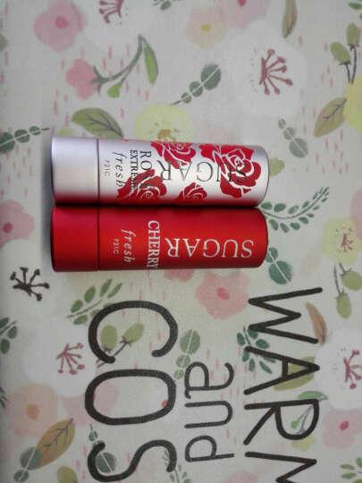馥蕾诗(Fresh) 黄糖澄糖防晒滋润护唇膏4.3g孕妇可用rose coral fig 野莓红BERRY 晒单图