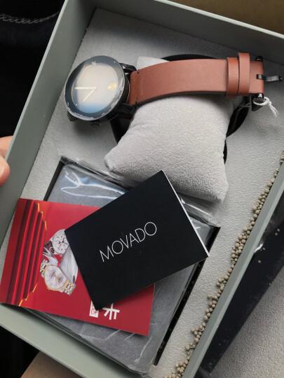 摩凡陀(Movado)官方旗舰店 瑞士手表 波特系列 BOLD 42mm石英男表黑色3600305 礼盒装 晒单图