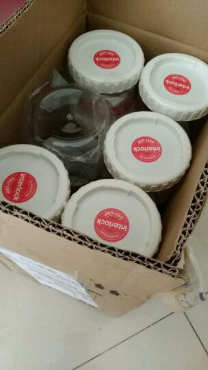 乐扣乐扣(locklock) 密封罐储物罐 保鲜盒米面桶零食收纳 四件套 500ml*2+1L*2 晒单图