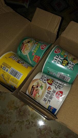 麦丹郎 南瓜皮蛋瘦肉粥 早餐宵夜方便速食粥  麦片下午茶砂锅粥12碗箱装 晒单图
