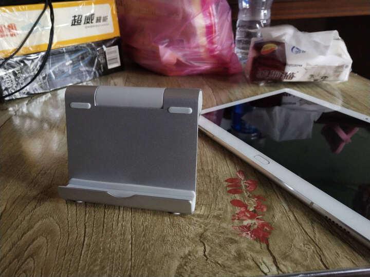 虎克 华为平板pad电脑金属支架 多角度通用可变支撑铝合金支架桌面底座 桌面版加长款-手机平板通用支持3.5-13英寸支架 晒单图