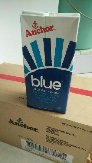 新西兰原装进口 安佳(Anchor)全脂纯牛奶箱装 1L*12 晒单图