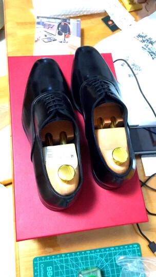 Salvatore Ferragamo 菲拉格慕 男士DUNN系列黑色牛皮系带皮鞋 0674362 6/40 EEE 晒单图