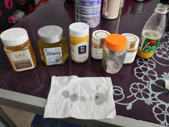 蜂之语 蜂蜜 天然蜂蜜  成熟洋槐蜜 蜂蜜柚子茶 500g 晒单图