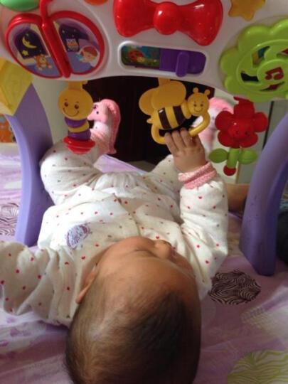 英纷WinFun 宝宝音乐爬行垫健身架 婴儿游戏垫玩具 新生儿礼盒 宝宝玩趣音乐垫爬爬垫0837 晒单图