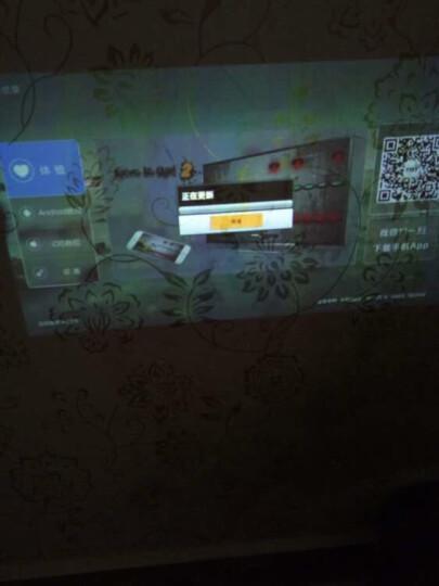 Tumetimes 图美Q8微型手机投影仪家用迷你全高清投影机智能wifi短焦3D无线便携办公 32G 中国红 晒单图