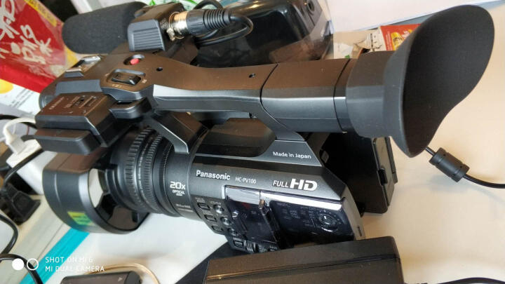 松下(Panasonic) HC-PV100GK 高清数码摄像机/高清DV 官方标配(不含赠品) 晒单图