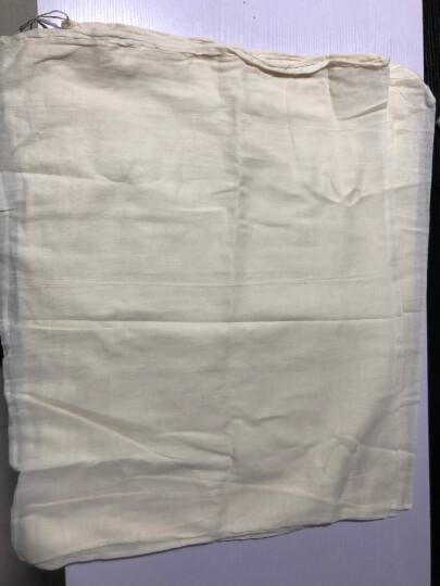 纱布袋调料包过滤袋茶包袋中药袋煎药袋煲汤袋煲鱼袋隔渣袋 10个30*40 晒单图