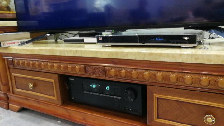 华录(Hualu) BDP2046S 蓝光播放机倍线4K 3d硬盘播放器dvd影碟机全区 2019年升级版+2T硬盘 晒单图