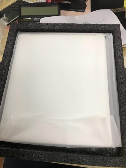 色果 有机玻璃鼠标垫 适用苹果imac电脑笔记本mac办公小号硬质便携 中号-亚克力黑色-24x20cm 晒单图